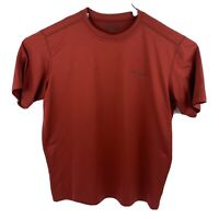 Columbia PFG Omni-wick Athletic T-shirt Red Mens Size M