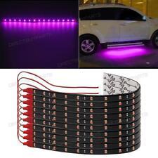 "10x 12"" Pink Purple Waterproof 15LED 30cm Car Lighting Flexible Strip Decorative"