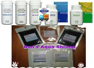 ADA 5 Fertilizer Penac P+Penac W+Tourmaline BC+Clear Super+Bacter 100 Plant Tank