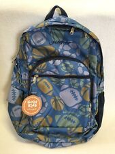 Nwt Life Is Good Kids Multi Sports Blue Backpack Football Soccer Basketball