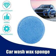 Microfiber Foam Sponge Polish Wax Applicator Car Detailing Cleaning Pad C5A2