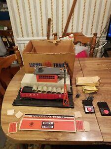 Lionel 342 Vintage O Motorized Operating Culvert Loader