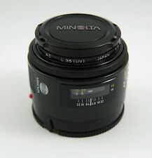 "Minolta AF 50mm F1.7 Lens with Minolta/Sony ""A"" Mount"