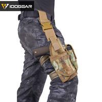 IDOGEAR Tornado Tactical Leg Holster Universal Thigh 500D Nylon Right Military