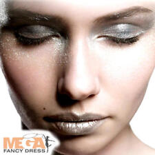 Silver Glitter Gel Face Paint Fancy Dress Fairytale Kids Adults Costume Make Up