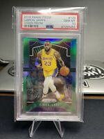 2019 Panini Prizm LeBron James #129 GREEN PRIZM PSA 10 GEM MINT