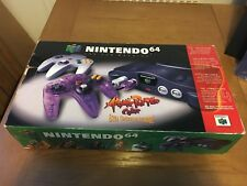 Boxed N64 Console Atomic Purple Color Included - 2 Controllers - NTSC - Nintendo