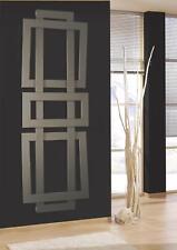 Badheizkörper Design ART II, 180 x 60 cm, 1019 Watt, Mittelanschluss, silber