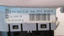 2001 Mercedes-Benz C240 Dash Headlamp Console Switch 2035451004