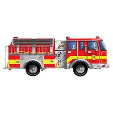 Lights Camera Interaction Lci436 Floor Puzzle Giant Fire Truck