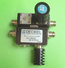 1pc DECIBEL ACJ2802J2 850-960MHz RF coaxial isolator with load