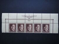 Germany Nazi 1942 Stamps MNH Adolf Hitler 53rd birthday Swastika Eagle WWII Thir