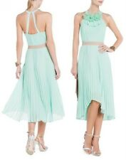 $298 BCBG Max Azria Louisa  Pleated Dress  SZ  4