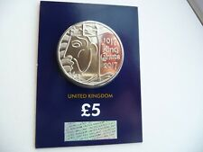2017 King Canute £5 Five Pound Coin Brilliant Uncirculated In Certified Pack.