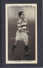 Mitchell - Scottish Football Snaps 1935 # 42 Thomson - Kilmarnock