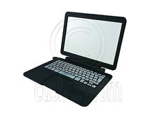 Black Laptop Notebook 1/6 for Barbie Monster High Doll's Dollhouse Miniature