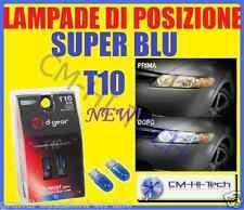 LAMPADINE DI POSIZIONE BLU T10 TUTTOVETRO PER AUTO GRANDE PUNTO BRAVO E46 CORSA
