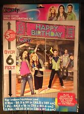 Nickelodeon iCarly Wall Decorating Kit Scene Setter Birthday Party Supply Favor
