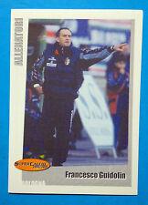 PANINI SUPERCALCIO 2000/2001-Figurina/Sticker-n.47-GUIDOLIN-ALLENATORI-New
