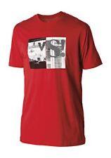 Nixon Versus Short Sleeve Tee T-Shirt (L) Red S1651200-04