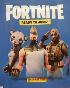 PANINI FORTNITE READY TO JUMP STICKER COLLECTION CHOOSE YOUR STICKERS 1 - 199