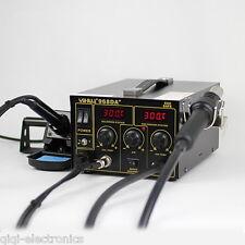 220V EU Plug 720W 3in1 Welder Soldering Solder ReWork Station Iron Hot Air Gun
