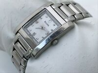 Bulova  A5 Women Watch Swiss Silver Tone Analog Water Resistant Wrist Watch