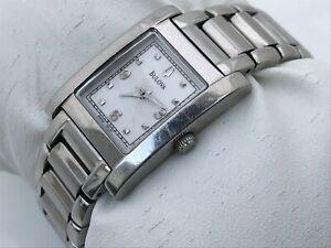 Bulova  A5 Women Watch Swiss Silver Tone Analog Water Resistant Wrist Watch