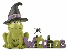Blossom Bucket Best Witches Frog with Witch Hat