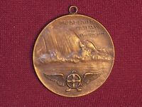 Vintage Medal Great Falls Montana The Electric City Bronze Whitehead & Hoag