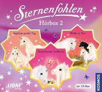 STERNENFOHLEN - DIE GROßE STERNENFOHLEN HÖRBOX FOLGE 4-6 (3CDS)  3 CD NEU