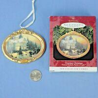 Hallmark Victorian Christmas Thomas Kincade Keepsake Ornament Original Box NOS