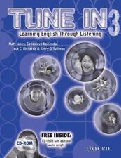Tune In 3 Student Book with Student CD: Learning English Through Liste-ExLibrary