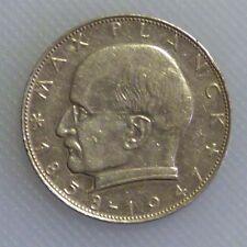 2 Dm Münzen Der Brd Mit M Planck 1957 1971 Günstig Kaufen Ebay