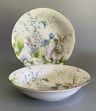 Williams Sonoma Floral Meadow Large Coupe Soup Bowls
