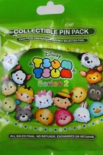 Disney Parks Tsum Tsum # 2 Mystery Pack Collection Pin Bag - 5 Pins Per Bag