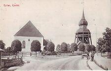 Schweden Ljusdal-Kyrkan alte unbenutzte Postkarte