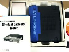 Linksys EtherFast Wan/Lan Cable/Dsl Broadband Wired Router Befsr11