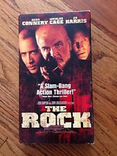 The Rock VHS Sean Connery Nicolas Cage Ed Harris