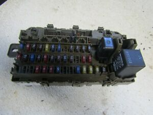 98 Honda Civic cabin fuse box Under Dash Interior fuse box block