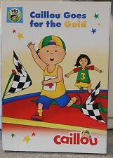 Caillou: Caillou Goes for the Gold (DVD, 2016) PBS KIDS BRAND NEW W SLIPCOVER