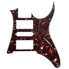 Dark Brown Tortoise Shell HSH Electric Guitar Pickguard Replacement Ibanez RG250