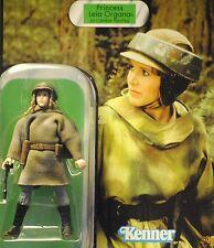 Star Wars ROTJ Vintage Carrie Fisher Princess Leia Endor Gear MOC VOTC Figure