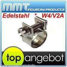 5x     SCHLAUCHSCHELLE   MINI      13-15mm      W4   -   EDELSTAHL  -    SCHELLE