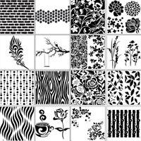 16X DIY Embossing Folders Plastic Template Die Cutting Scrapbooking Card Xmas BD
