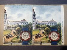 Very Early Stereo Card of Texas State Capitol