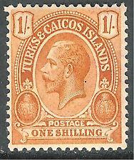 Turks and Caicos George V Era (1910-1936) Stamps