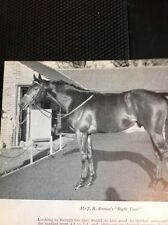 L1-3 Ephemera 1968 Small Picture Horse Racing Mr J R Brown Right Tack