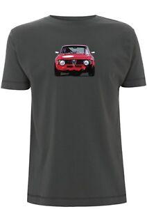 Alfa Romeo Giulia T Shirt Sprint GTA Italia Rally Car italy Classic Car Show
