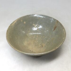 B724: Korean bowl of really old blue porcelain of appropriate Goryeo dynasty